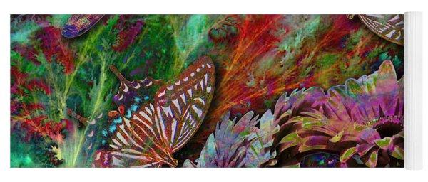 Blooming Color Yoga Mat