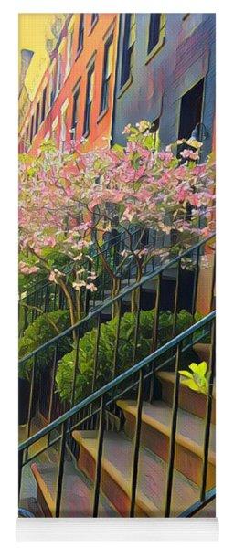 Blooms Of New York Yoga Mat
