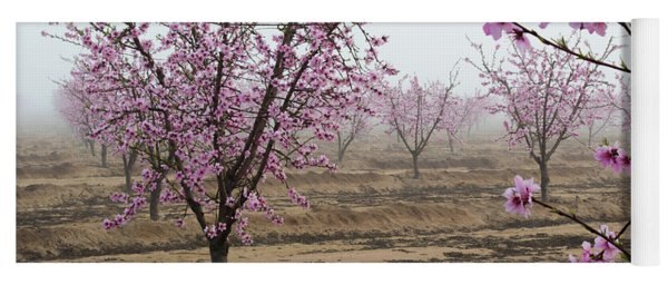 Blossom Trail Yoga Mat