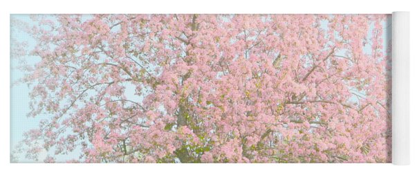Blossoms Yoga Mat
