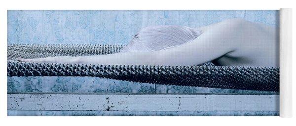 Blue #7451 Yoga Mat