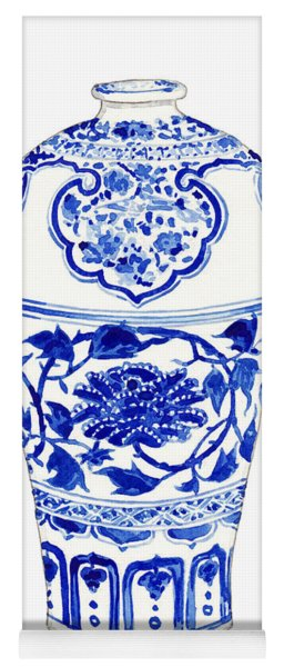 Blue And White Ginger Jar Chinoiserie 3 Yoga Mat