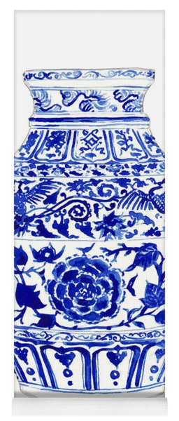 Blue And White Ginger Jar Chinoiserie 4 Yoga Mat