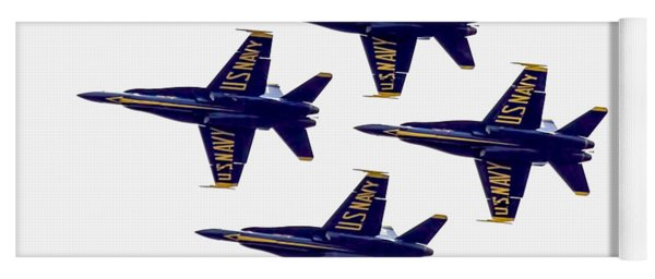 Blue Angels Airshow Yoga Mat