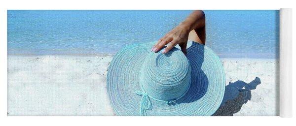 Blue Beach Yoga Mat