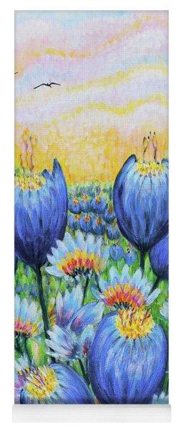 Blue Belles Yoga Mat