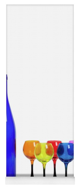 Blue Bottle #2429 Yoga Mat