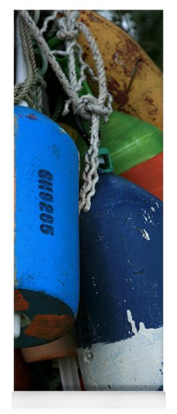 Blue Buoys Yoga Mat