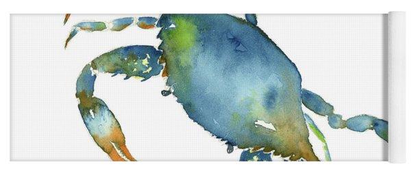 Blue Crab Yoga Mat