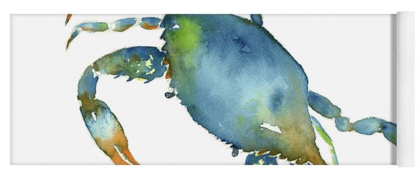 Blue Crab Yoga Mat