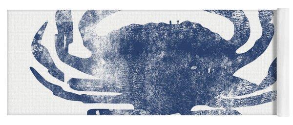 Blue Crab- Art By Linda Woods Yoga Mat