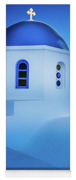 Blue Domed Chapel Yoga Mat