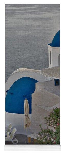 Blue Domes Yoga Mat