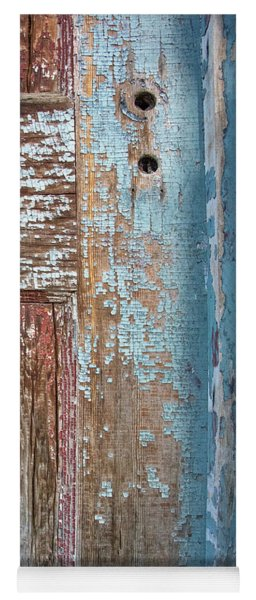 Blue Door Crackle Yoga Mat