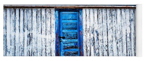 Blue Door Old Mill Building Yoga Mat