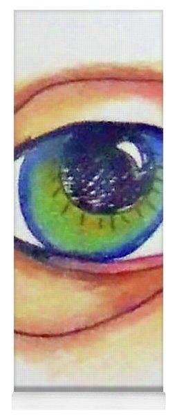 Blue Eye Yoga Mat