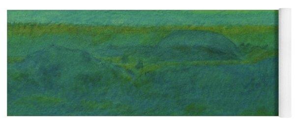 Blue-green Dakota Dream, 2 Yoga Mat