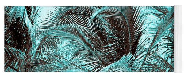 Blue Hawaii Yoga Mat