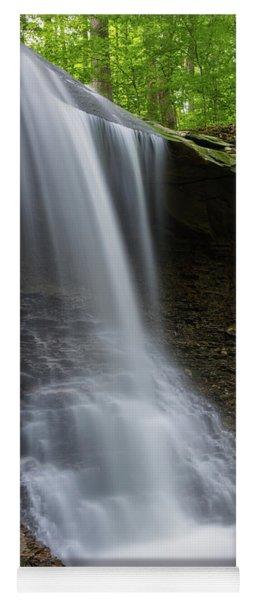 Blue Hen Falls And Alcove Yoga Mat