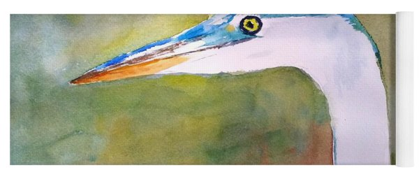 Blue Heron Yoga Mat