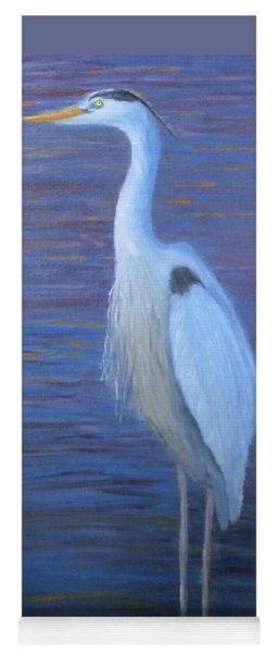 Blue Heron Yoga Mat