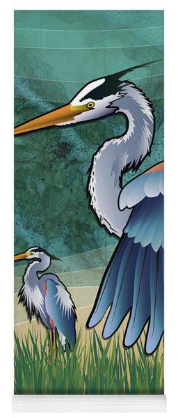 Blue Herons Of The Chesapeake Bay Yoga Mat