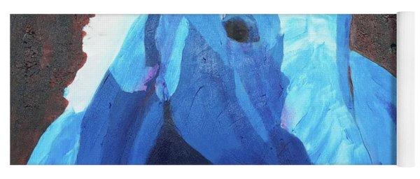 Blue Horse Yoga Mat