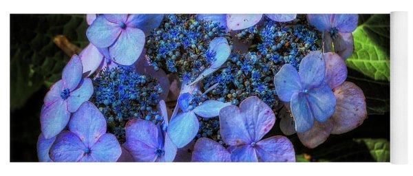Blue In Nature Yoga Mat