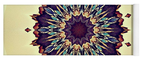 Blue Iris Yoga Mat