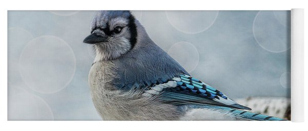 Blue Jay Perch Yoga Mat