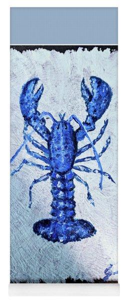 Blue Lobster 1 Yoga Mat