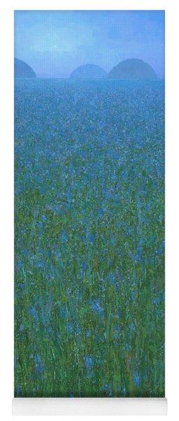Blue Meadow 1 Yoga Mat