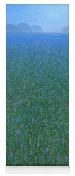 Blue Meadow 2 Yoga Mat