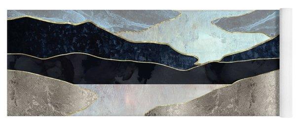 Blue Mountain Lake Yoga Mat