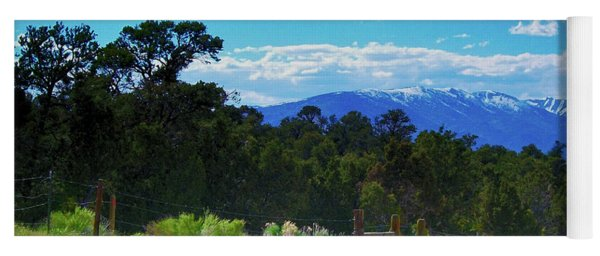 Blue Mountain West Yoga Mat