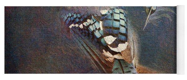 Blue On Blue 2015 Yoga Mat