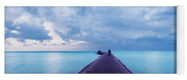 Blue Pier Yoga Mat