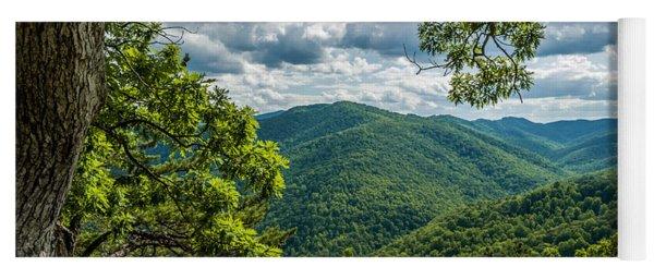 Blue Ridge Mountain View Yoga Mat
