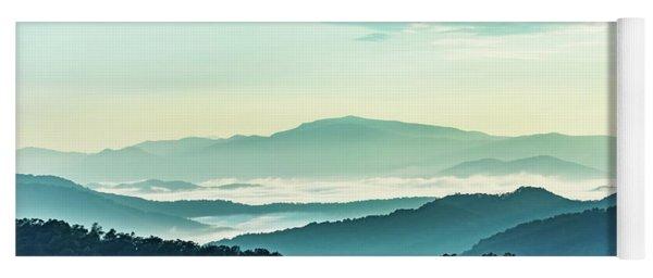 Blue Ridge Pastel Yoga Mat