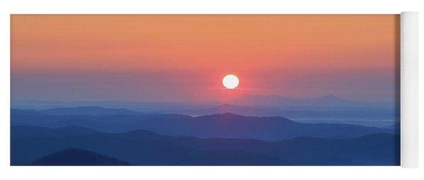 Blue Ridge Sunrise Yoga Mat