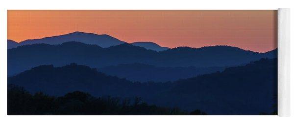 Blue Ridge Sunset Yoga Mat