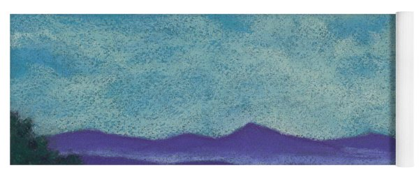 Blue Ridges Mist 1 Yoga Mat