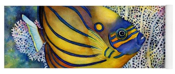 Blue Ring Angelfish Yoga Mat