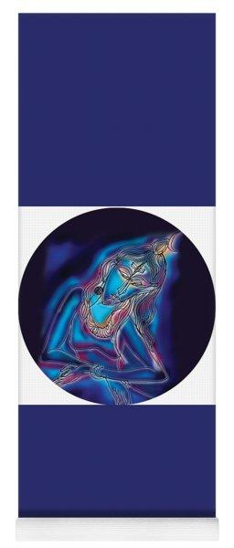 Blue Shiva Light Yoga Mat