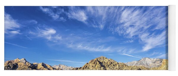 Blue Sky Nevada Yoga Mat