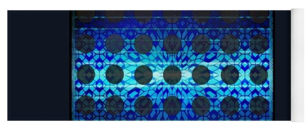 Blue Star Yoga Mat