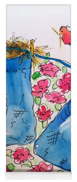Blue Stockings Yoga Mat