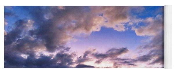 Blue Sunset Yoga Mat
