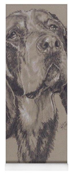 Bluetick Coonhound Yoga Mat