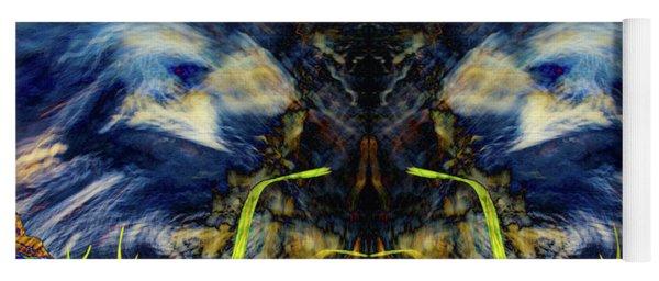Blue Tigers Devil Yoga Mat